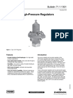 Product Bulletin 1301 Series High Pressure Regulators en 125462
