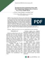 Isolasi Dan Karakterisasi Flavonoid