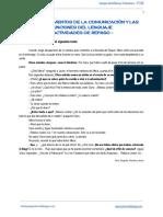 Texto de _Pomelo y Limón_. Comunicación y Funciones Del Lenguaje