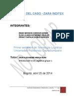 Analisis - Zara Int. a La Logistica