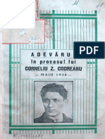 Adevarul in procesul lui Corneliu Zelea Codreanu - mai 1938