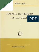 Manual de historia de la Iglesia 5 - Jedin, Hubert .pdf