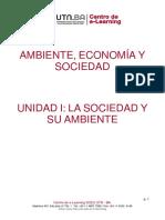 Ambiente Economia y Sociedad Unidad1
