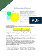 Fórmula de Los Círculos Tangentes de Descartes