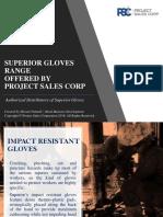 Superior Gloves Range 2018