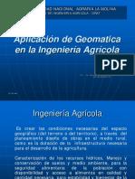 Aplicacion de Geomatica en Ing. Agricola