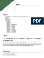 El Libro de Los Elementos - Euclides (Libro Primero)
