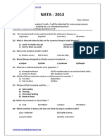 125873280 NATA Sample Paper 1