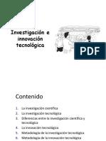 Investigacion e innovacion