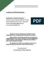 CURRÍCULO PROFISSIONAL - Emmanuelly