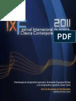 Festival Internacional de Música Clásica Contemporánea de Lima