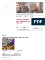 18 Pedestrian Wind Comfort Analysis Report