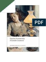 Uma Criatura Docil - Fiodor Dostoievski