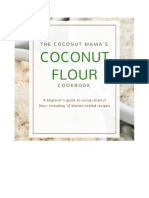 Coconut Mamas Coconut Flour Cookbook