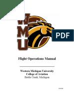 WMU Flight Manual