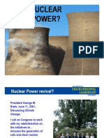 Michael P Totten Nuclear Power Risks Presentation 30 Slides