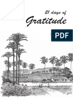 21-Day Gratitude Journal (Aravind format)