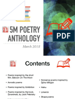 5M Poetry Anthology