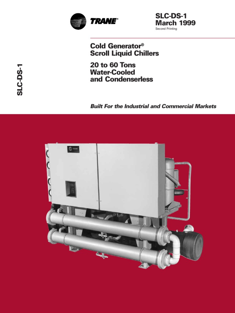 Scroll Liquid Chillers slc-ds-1_03011999.pdf | Mechanical Engineering |  Building Engineering