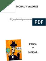 Etica, Moral y Valores