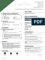 Indrasom's Resume