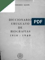 Fernández Saldaña - Diccionario Uruguayo de Biografias 1810-1940