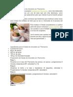 Cómo Preparar Helado de Chocolate Con Thermomix