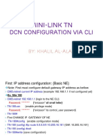 Dcn Configuration via Cli