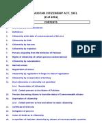 The Pakistan Citizenship Act, 1951.Doc