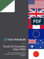 VisaTraveler eBook Travel VISA FREE