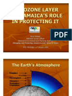 The Ozone Layer and Jamaica's Role in Protecting It