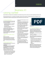 OpenScape Business V1, OpenScape Business X1, Getting Started Guide, Issue 1