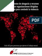 Los instrumentos de abogacía y recursos utilizados por organizaciones dirigidas estas mismas para combatir la violencia