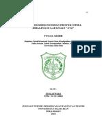 Analisis keekonomian proyek infill drilling lapangan xyz.pdf