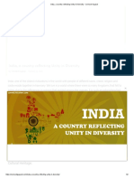 India, A Country Reflecting Unity in Diversity - Connect Gujarat