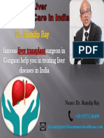 Dr. Ramdip Ray A Commitment to Advancing Liver Transplant Care in India