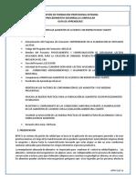Guía de Aprendizaje Manipular Alimentos Normatividad Vigente
