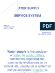 Drainage Water Supply System