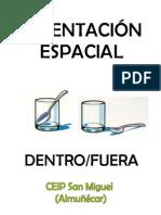 ORIENTACIÓN ESPACIAL DENTRO FUERA