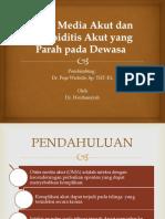 Otitis Media Akut dan Mastoiditis Akut yang parah.pptx