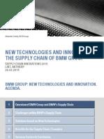 2015331103055570 Bmw Supply Chain Innovations Mar 2015 New Tech Scm 1503005 Vrijgeven