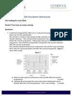 Circulation Homework