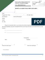 3. Form Permintaan Kebutuhan Privasi Pasien