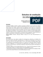 Estudos de avaliação na educação infantil.pdf
