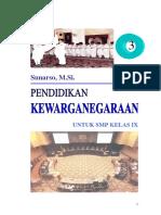 Buku Pkn SMP IX  Bab 1-4.pdf
