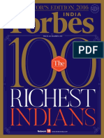 Forbes India - Collector's Edition The 100 Richest Indians 2016 - True PDF.pdf