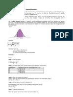Standard Deviation Handouts
