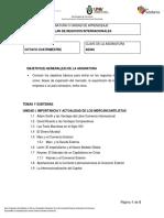 846 - Plan de Negocios Internacionales