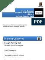 Essentials of Management-Planning 3 - Strategic Planning Tools.pdf