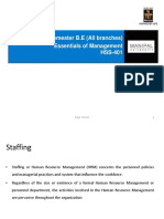 Essentials of Management-Staffing Ppts